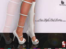 Bens Boutique - Aria High Heel Booties All Colors (slinkmid)