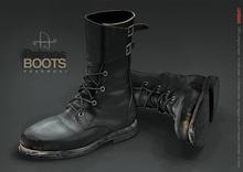 [Deadwool] Patmos boots - black