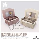 *MishMish* Nostalgia Jewelry Box [Wear to open]