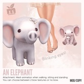 *MishMish* An Elephant - ROSE [Boxed]