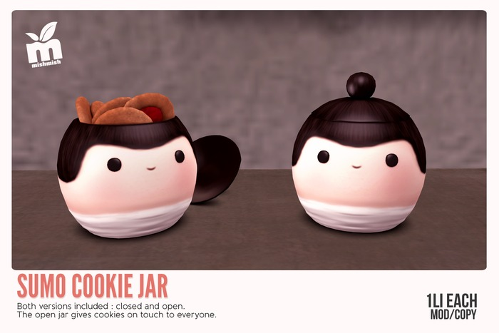 *MishMish* Sumo Cookie Jar [Boxed]