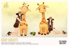 *MishMish* Baby Giraffe - ORIGINAL [Boxed]