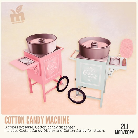 *MishMish* Cotton Candy Machine - ANTIQUE [Boxed]