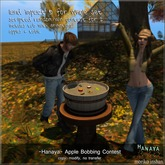 -Hanaya- Apple Bobbing Contest for 2 [mesh]