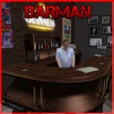 AL - Barman Standing Dummy