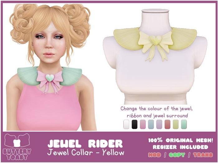 .:Buttery Toast:. Jewel Rider - Yellow - ORIGINAL