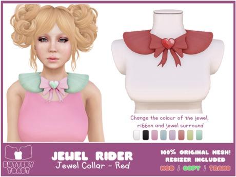 .:Buttery Toast:. Jewel Rider - Red- ORIGINAL