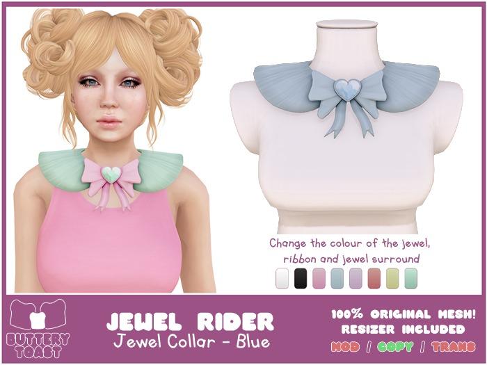 .:Buttery Toast:. Jewel Rider  - Blue