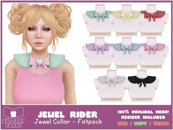 .:Buttery Toast:. Jewel Rider - Fatpack - ORIGINAL