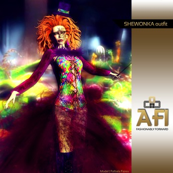 AFI Designs SheWonka outfit (boxed)