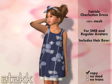 >>ATAKK<< Fairisle Charleston Dress