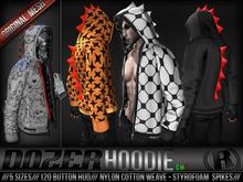 Razor /// Dozer Hoodie - Dino - Mens w/ HUD