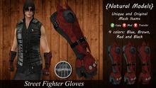 IGNITION ART - Street Fighter Gloves - Male Version