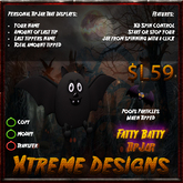 Xtreme Fatty Batty TipJar - Fat Bat Tip Jar