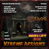 Crypt TipJar - Mausoleum - Halloween - Tomb