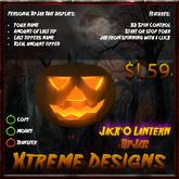 Jack O Lantern TipJar - Pumpkin - Halloween