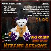 Xtreme Trick or Treat Teddy TipJar v1.7