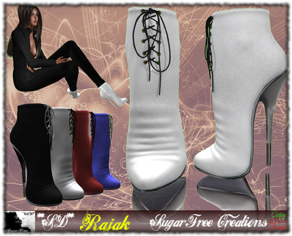 **SD**-RAJAK Heel Boots Stiletto Full Option