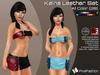 :)(: Kaina Leather set  ( Mini Skirt & Top) - Mesh - 28 Colors ( Classic Avatars + EVE Avatars )