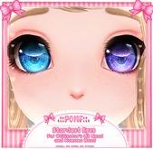 .:: POMF ::. M3 Head/Kemono Head - Stardust Eyes (READ DESCRIPTION)