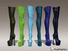 Vanina boots mesh blue   green colors