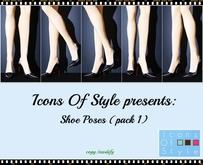 IOS Shoe Poses  -  Pack 1 (copy/modify)