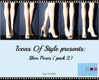 IOS Shoe Poses  -  Pack 2 (copy/modify)