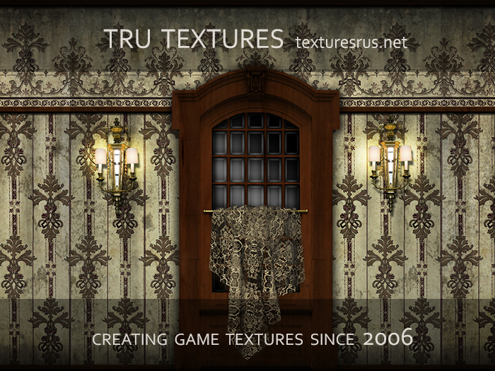 11607: Aug 09 - 20 x American Victorian Interior Texture Set One - 1024 x 1024 Pixels