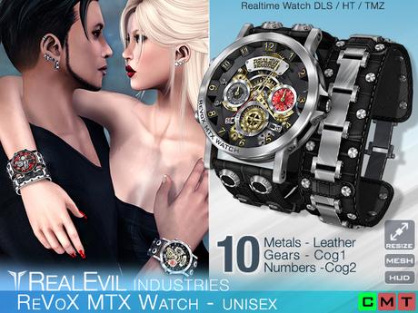 **RE** ReVoX MTX Watch * MESH * Unisex * (*ReVoX Collection*)