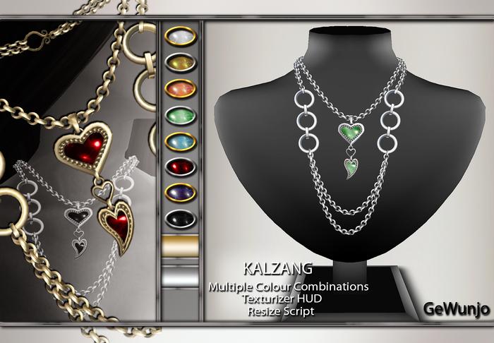 GeWunjo : KALZANG necklace