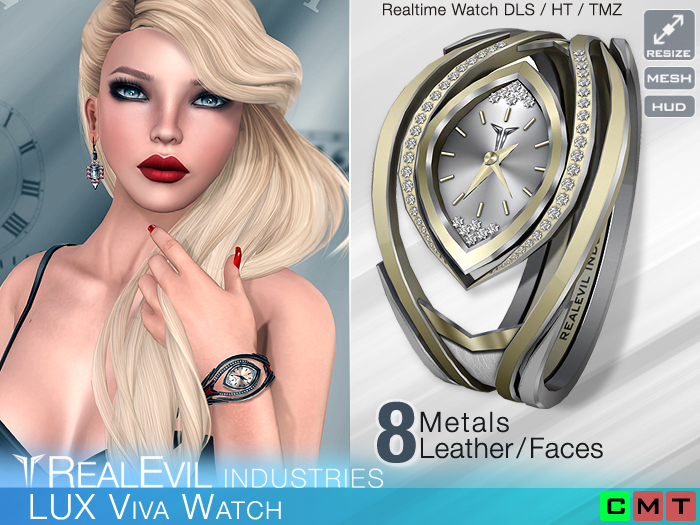 **RE** LUX Viva Watch * MESH * (**LUX Collection**)