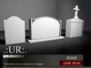 .:UR:. Graveyard Set - Gravestone I (full perm mesh)