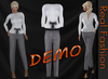 "REAL FASHION ""Working girl"" outfit set  - DEMO"
