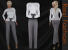 "REAL FASHION ""Working girl"" outfit set"