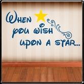 *~LT~* Wish Upon A Star Wall Art