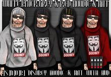 ]S]N]0]B] Disobey hoodie & Hat With HUD