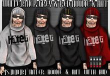 ]S]N]0]B] Hater hoodie & Hat With HUD