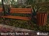 Botanical - Wood Bench Set