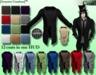 [Syn] Male coat (open, texture HUD)