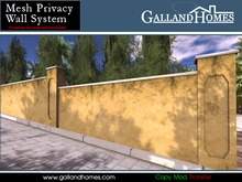 Mesh Privacy Wall System by Galland Homes