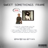 SasTech Sweet Somethings Frame