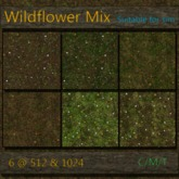Cube's Wildflower Textures for sim terrain