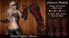 IGNITION ART - Street Fighter Gloves - Female Version