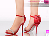 %50WINTERSALE Full Perm Mesh Decorated Counter Bridal Shoes With Mesh Feet (Web Based Skin Match System)