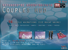PROMO! VISTA ANIMATIONS-MOCAP COUPLES HUD EXTENDED RS BACHATA-V6