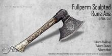 FLECHA Rune Axe fullperm