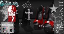 :Diamante: Redrum - SLink High Feet - Rigged