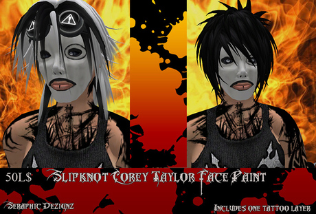 corey taylor all hope is gone mask