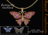 REAL FASHION - Butterfly necklace