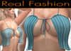 "Sexy top ""flirty"" light blue set - Mesh rigged"